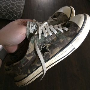 Converse All Star Camo Low Tops